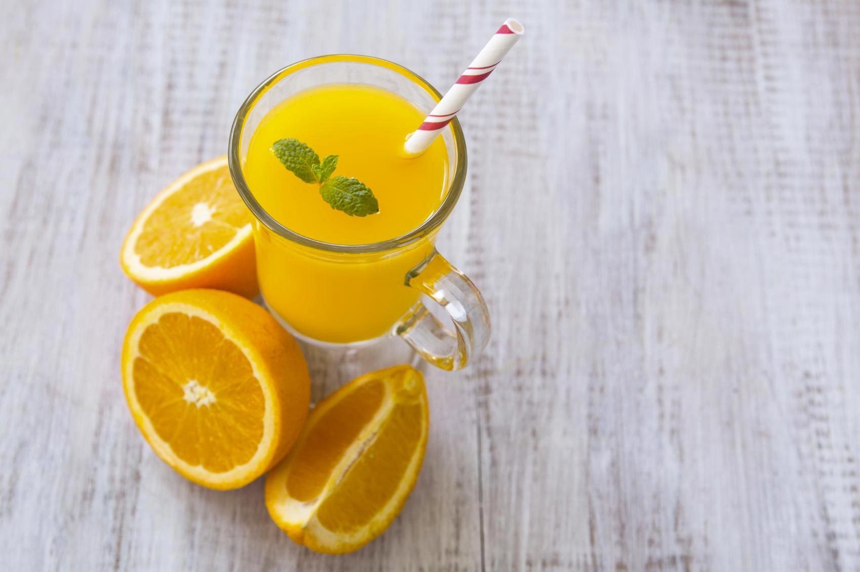Les cardiologues évitent d'acheter des jus de fruits.