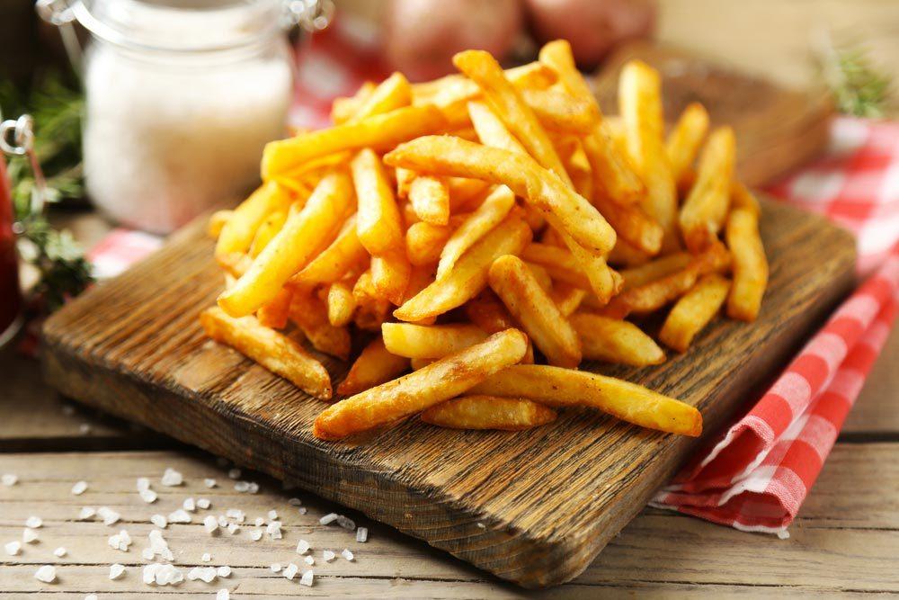 Les cardiologues mangent des frites moins grasses.