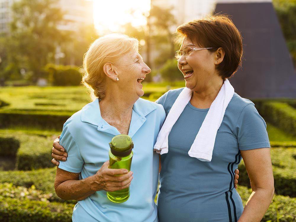 Les cardiologues trouvent un partenaire d'entrainement.