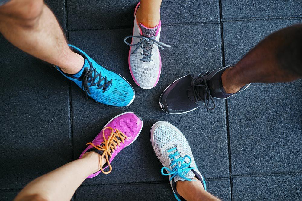 Conseils pour commencer à courir : abonnez-vous à un club.