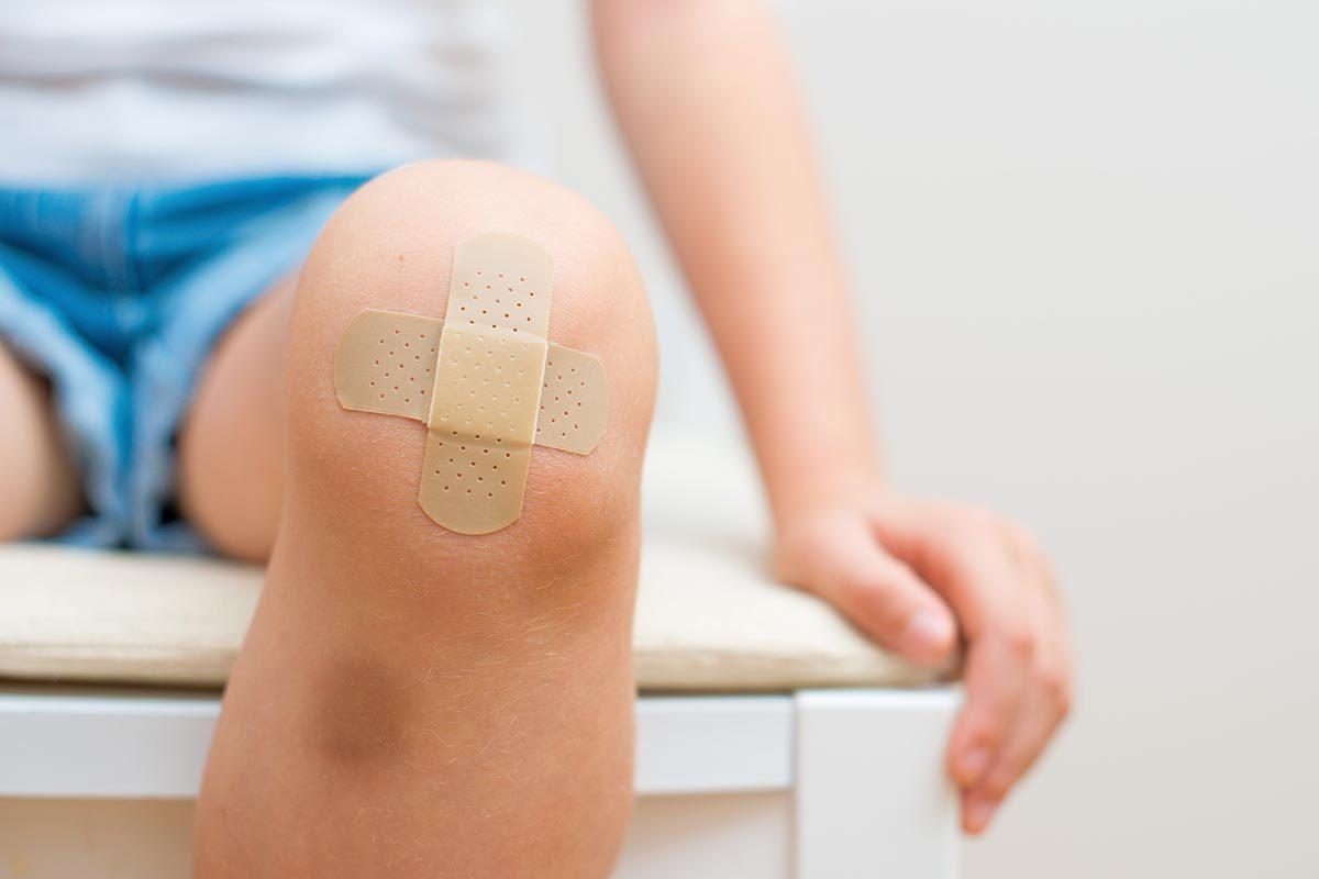 L'ecchymose est une blessure inoffensive.