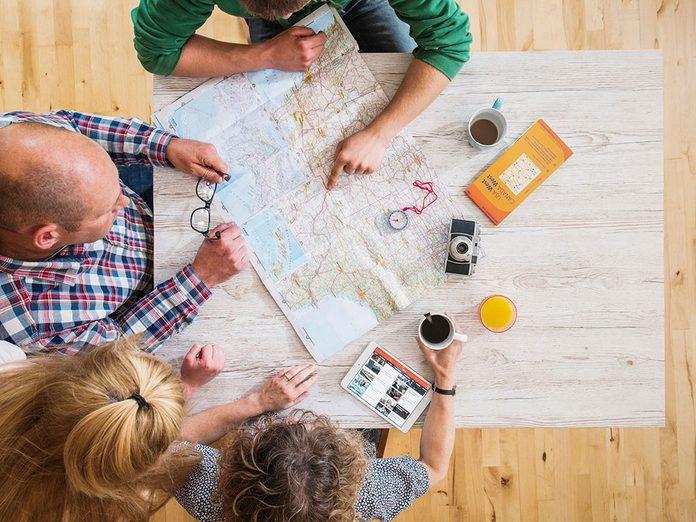 Pour capter l'attention et engager la conversation, planifiez des vacances de rêve.