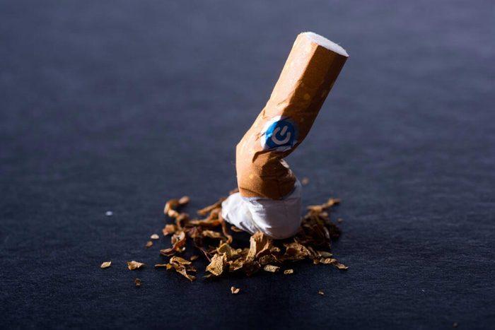 Pour prévenir la hernie discale, arrêtez de fumer.