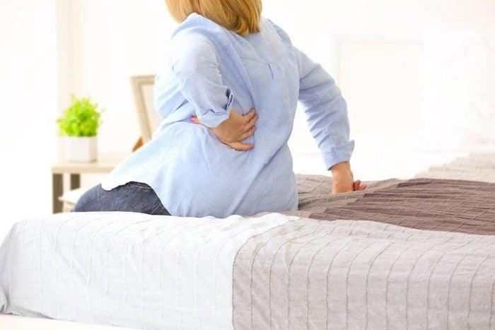 Symptôme d'une hernie discale : un côté de votre corps est froid.