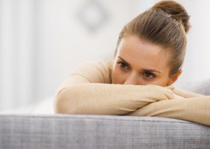 Signe d'une intolérance au gluten : dépression.