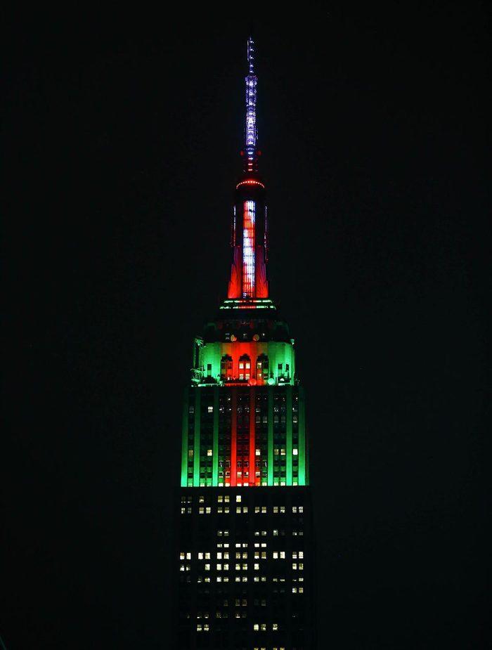 Monument célèbre qui dissimule une pièce secrète : l'Empire State Building.