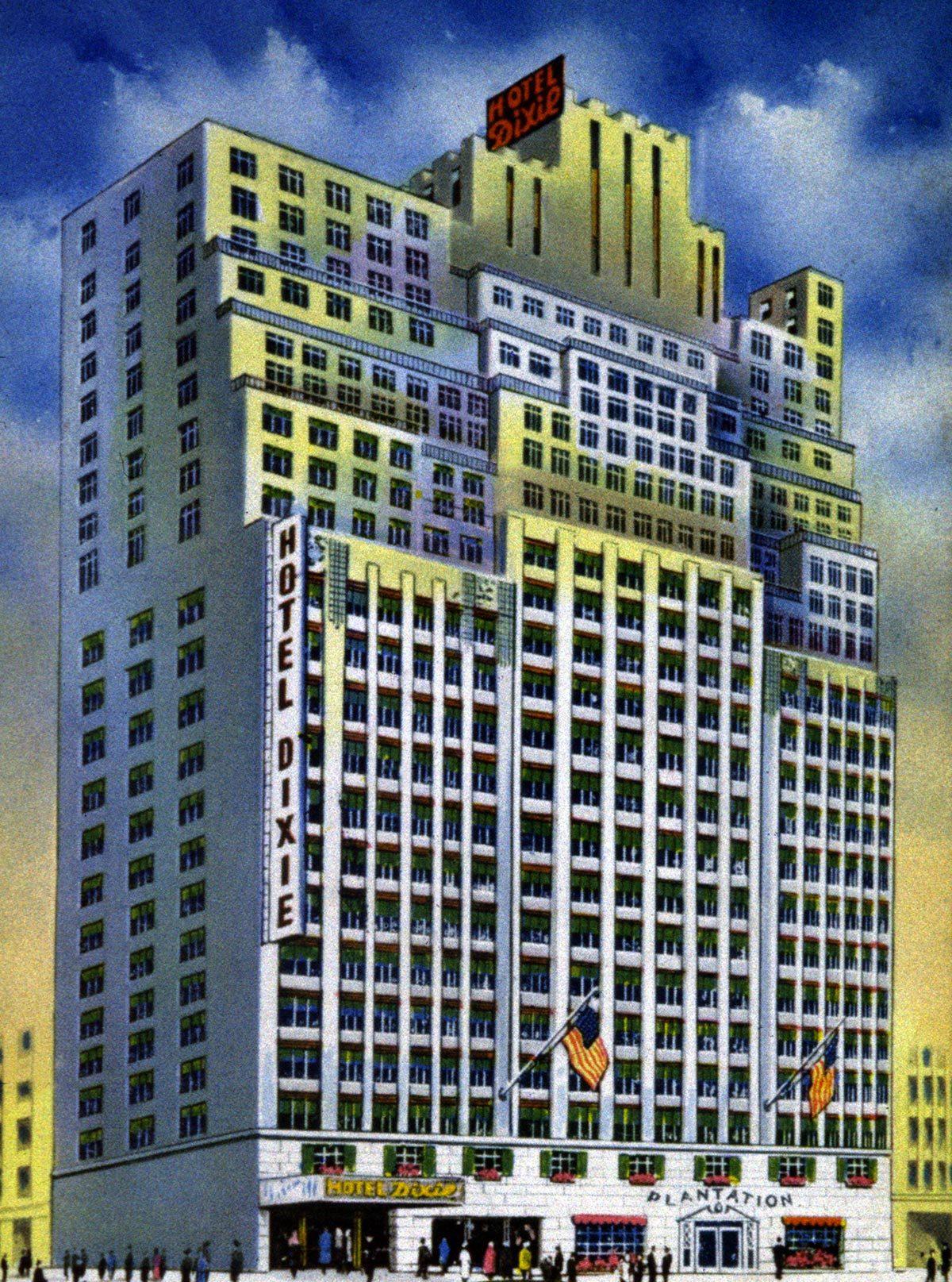 Monument célèbre qui dissimule une pièce secrète : l'Hôtel Carter de New York.