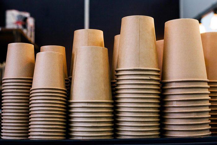 16 milliards de tasses à café jetables sont utilisées chaque année.