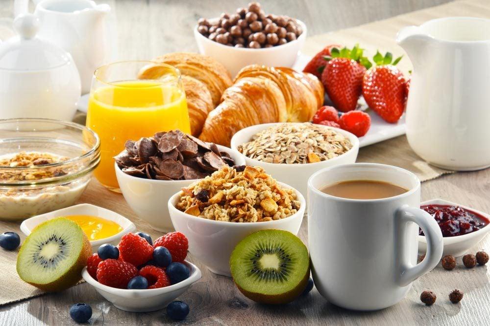 Pour un petit déjeuner équilibré, mangez la même chose tous les matins.