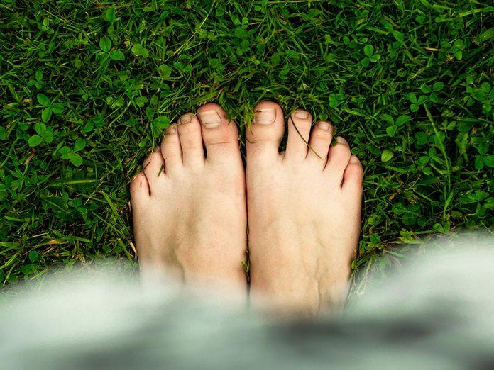 Podiatre: les pieds absorbent un poids quotidien de plus de 450000kg.