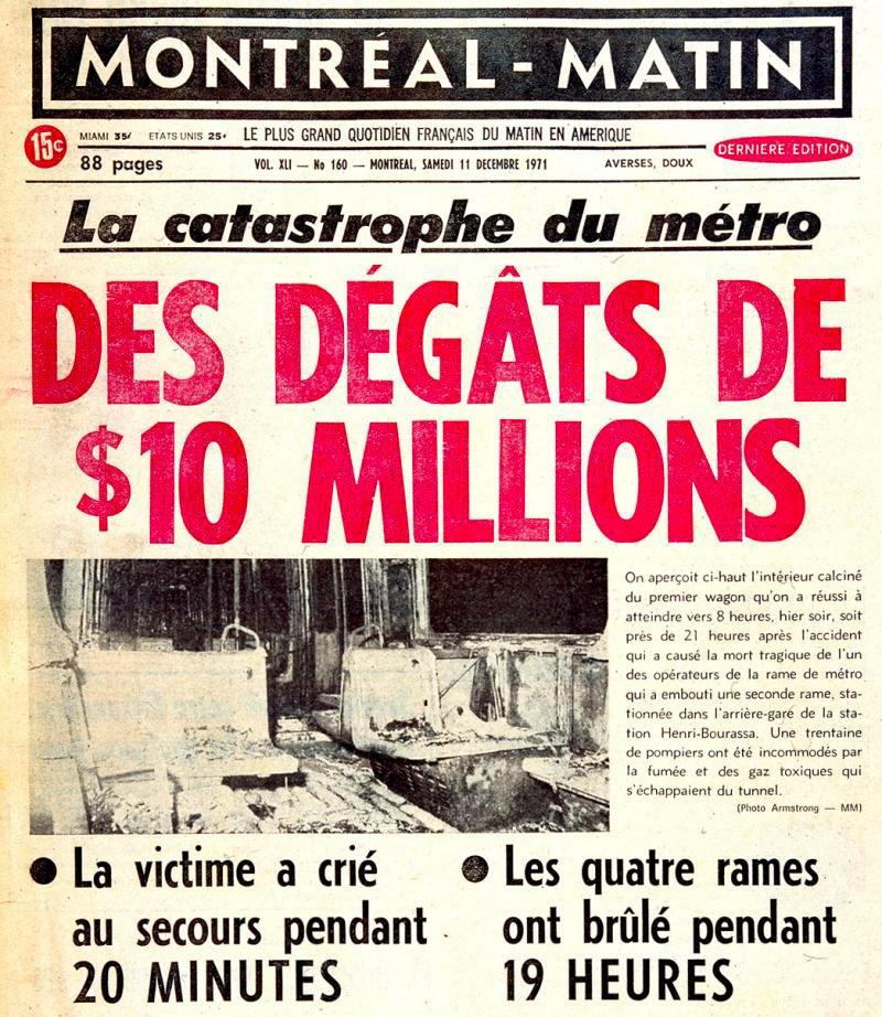 Le journal le Montréal-Matin est une institution du Québec qui a disparu.
