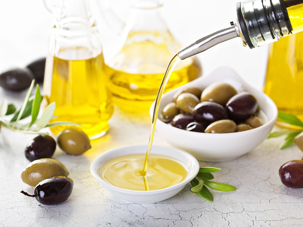 L'huile d'olive est parfaite pour remplacer le beurre.