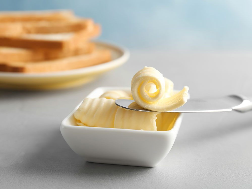 Voici 10 aliments santé pour remplacer le beurre.
