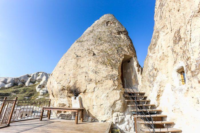 Séjour original à l'hôtel Fairy Chimney Inn en Turquie.