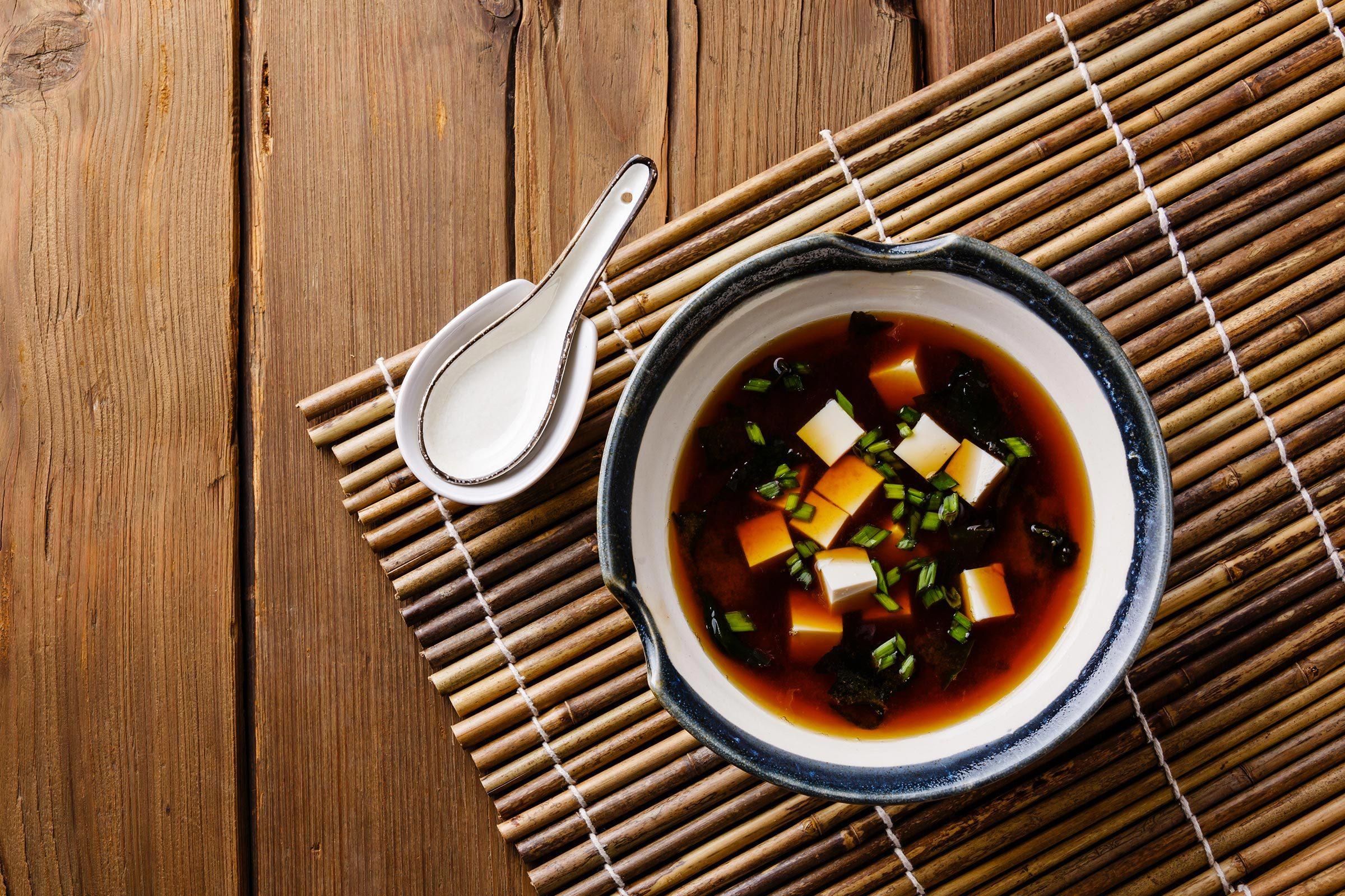 Les accompagnements des sushis sont également bons pour la santé.