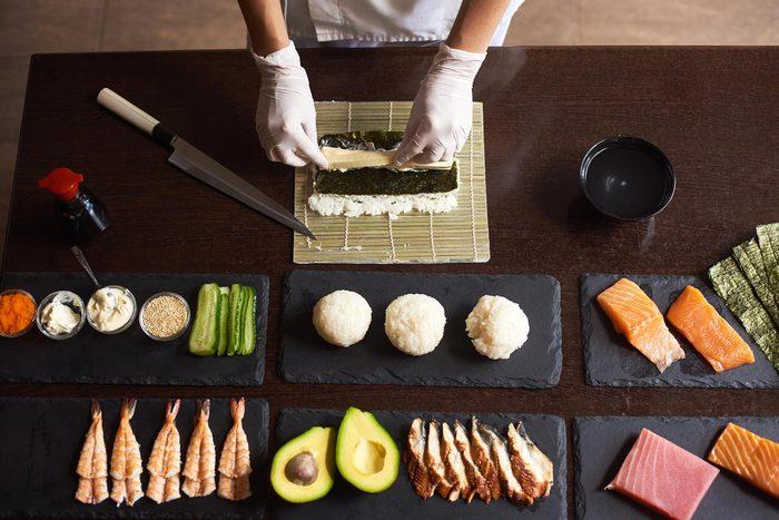 Les sushis sont-ils bons pour la santé?