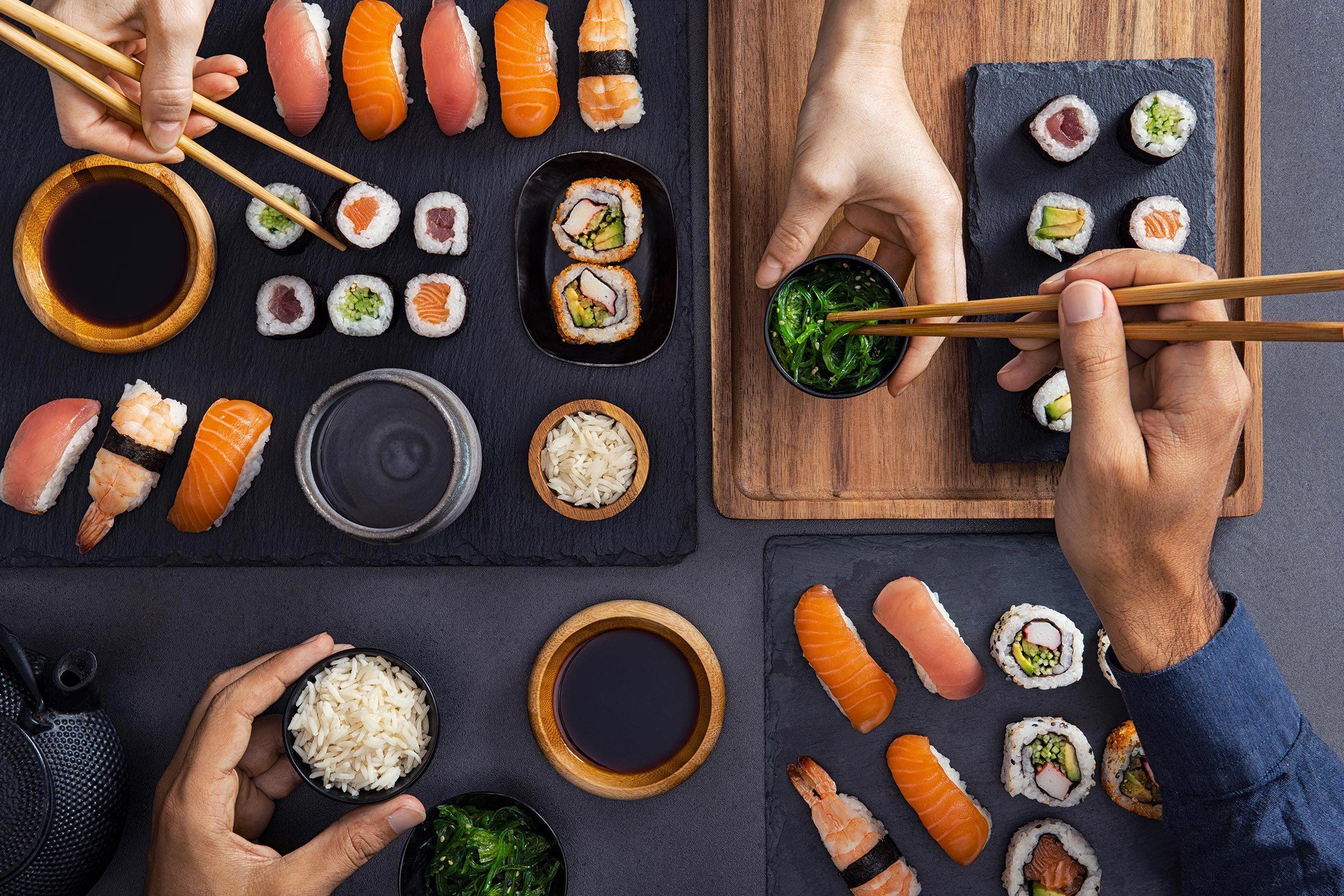 Mangez des sushis dans les restaurants auxquels vous faites confiance.