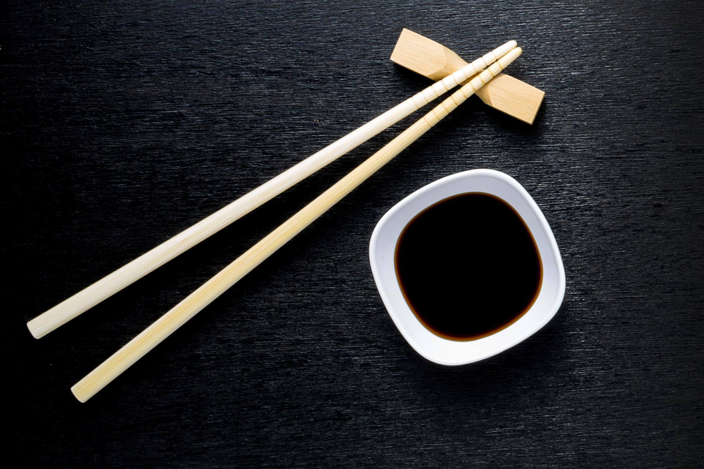 Avec vos sushis, limitez la consommation de sauce soya.