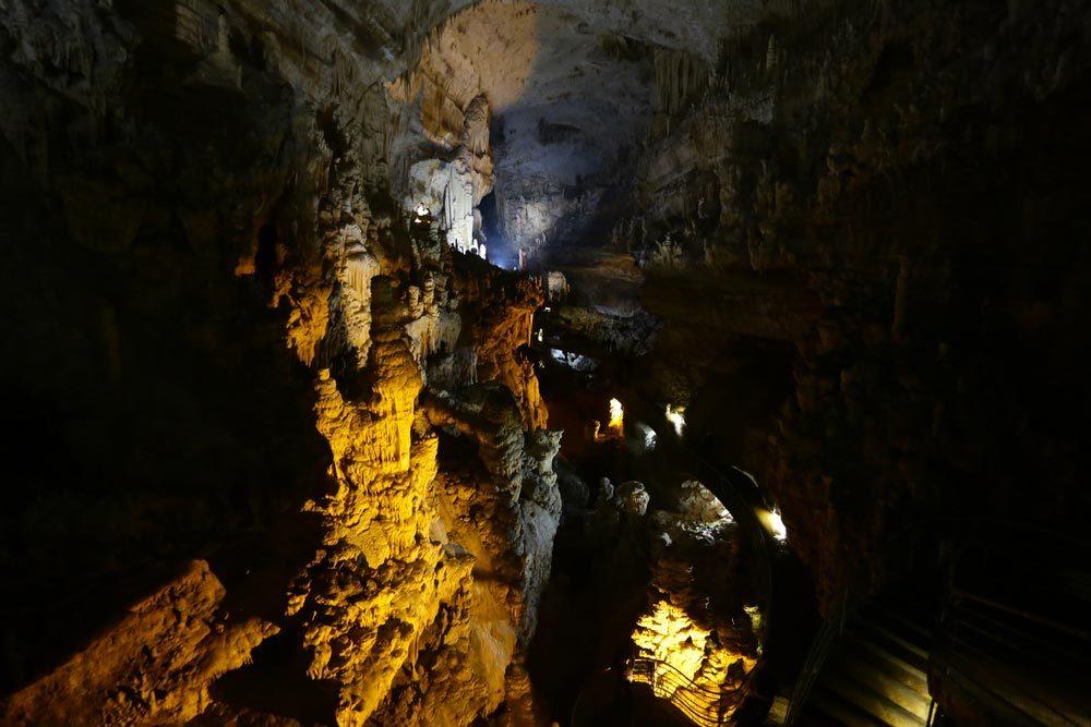 Idée de voyage : la grotte de Jeïta au Liban.