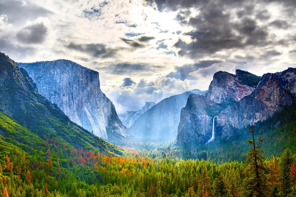 Idée de voyage : le parc national de Yosemite en Californie.