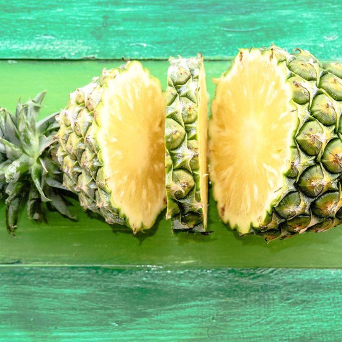 Les cœur d'ananas ne doivent pas être considérées comme des déchets alimentaires.