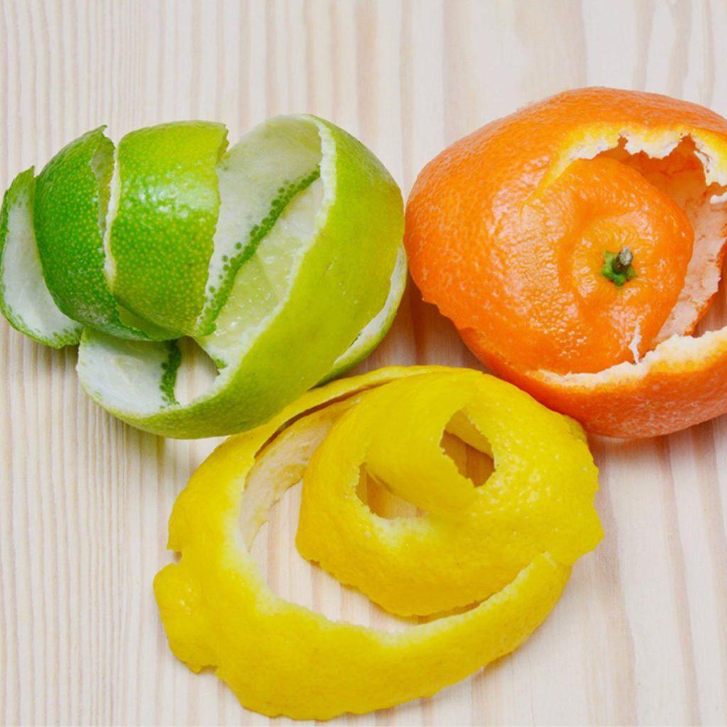 Les écorces de citron ne doivent pas être considérées comme des déchets alimentaires.