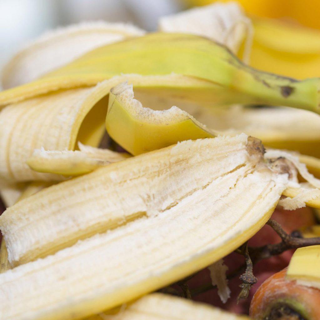 Les peaux de bananes ne doivent pas être considérées comme des déchets alimentaires.
