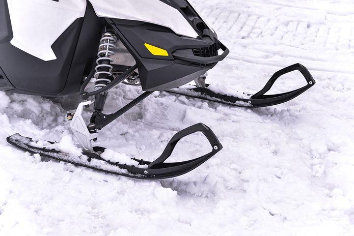 La motoneige est une invention faite au Québec par Bombardier.