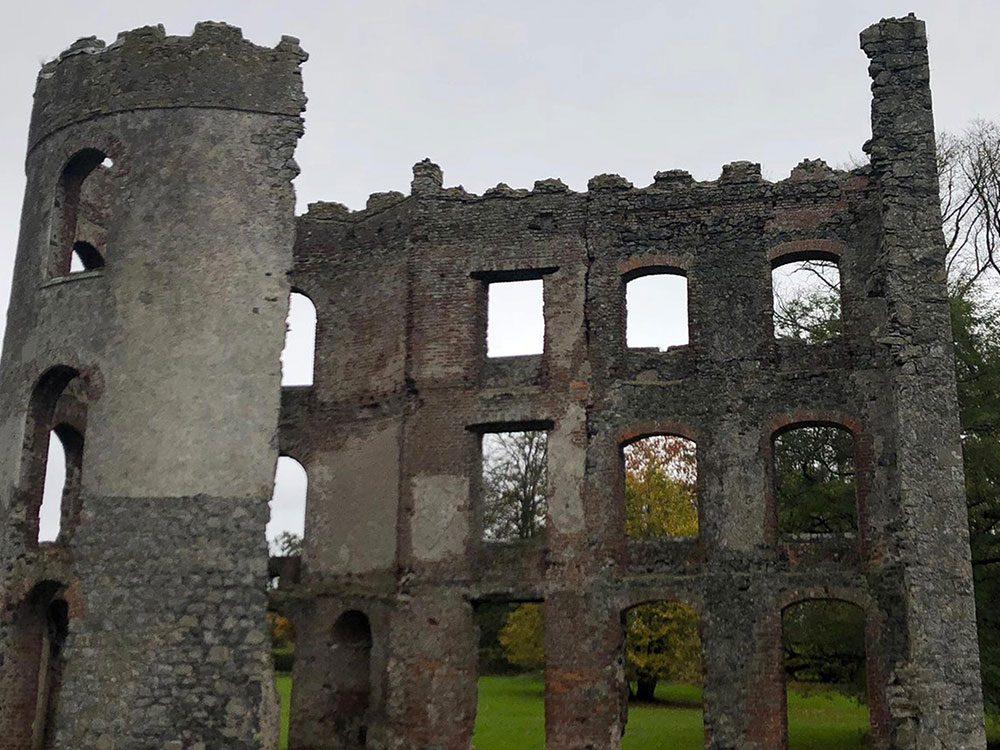 Le château de Shane en Irlande du Nord nous amène dans l'univers du Trône de fer