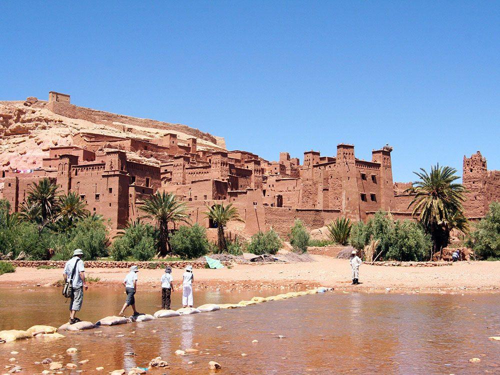 Très beau château au Maroc - Trône de fer