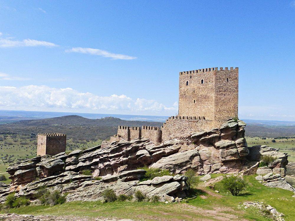 Un château du Trône de fer en Espagne