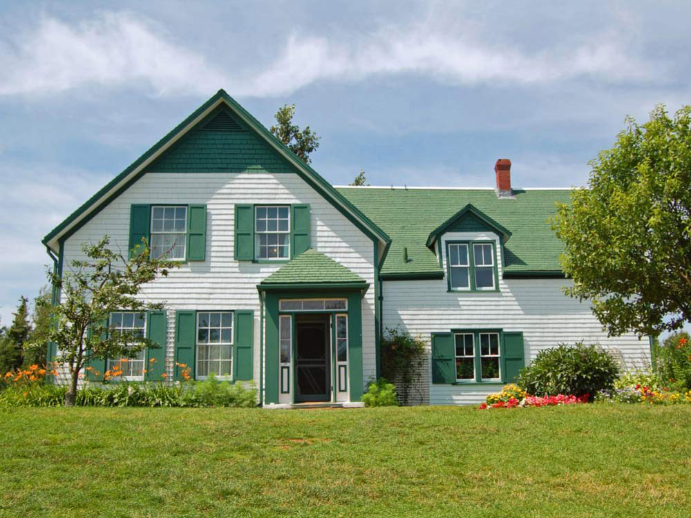 Voyage dans les Maritimes: visiter la maison aux pignons verts, Île-du-Prince-Édouard.