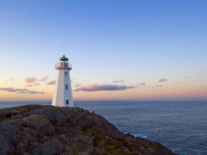 Voyage dans les Maritimes: visiter les phares de Terre-Neuve.
