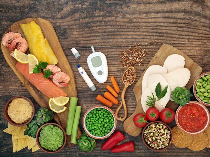 Favorisez cesaliments pour mieux prévenir le prédiabète et le diabète.