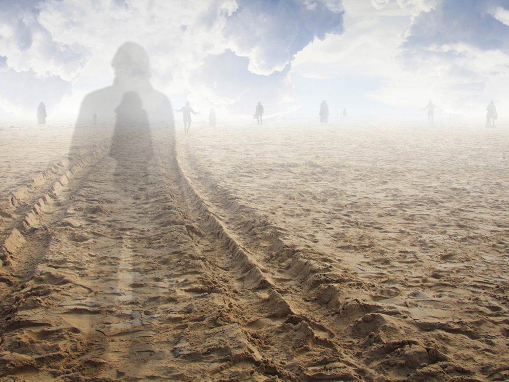 Les personnes ayant vécu une expérience de mort imminente racontent avoir senti une sensation de paix.