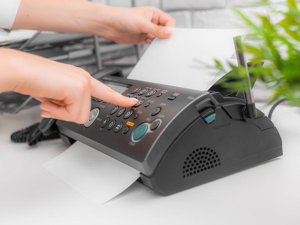 Secret de famille : Mon père avait eu l'idée du fax