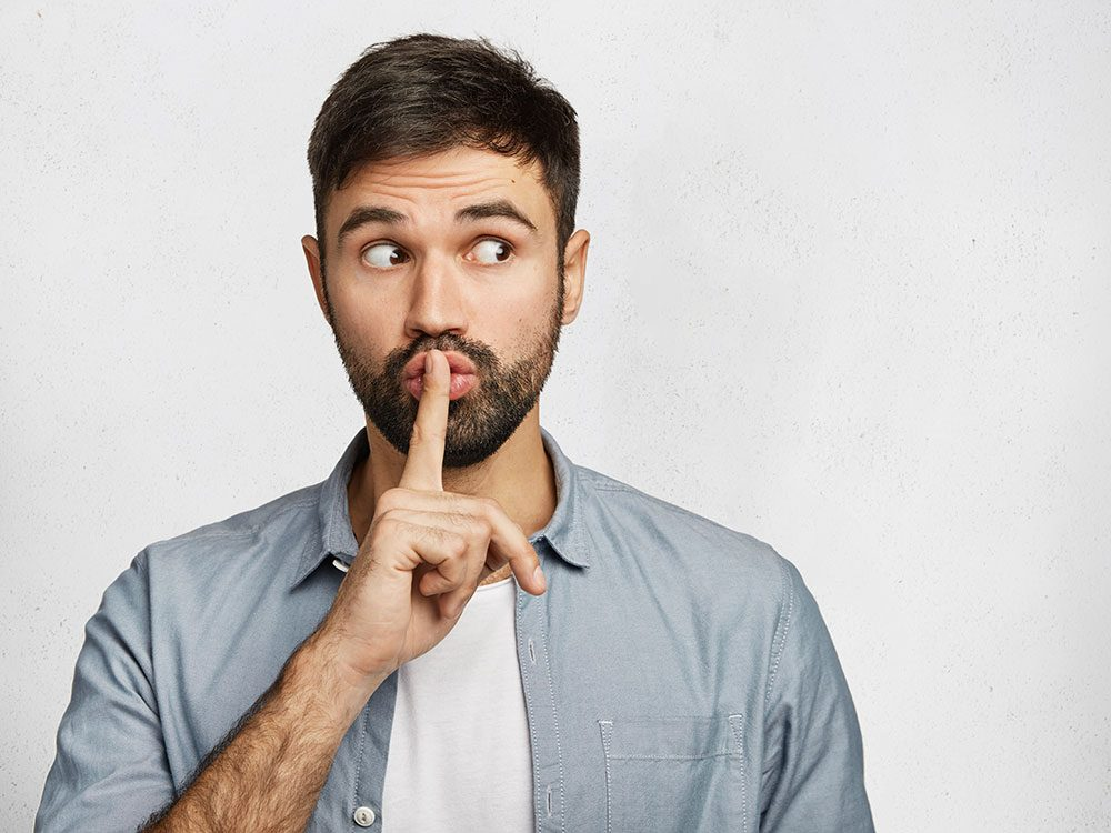 Silence : nous sommes tous des menteurs