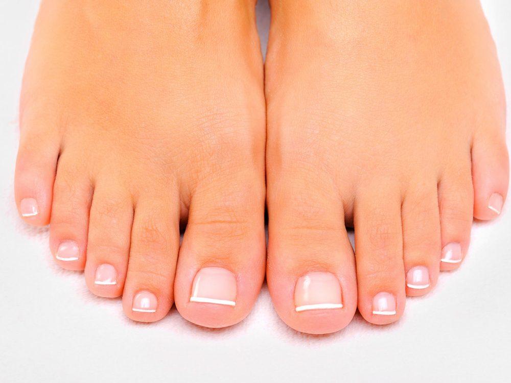 Des orteils sans poils peuvent indiquer une maladie.