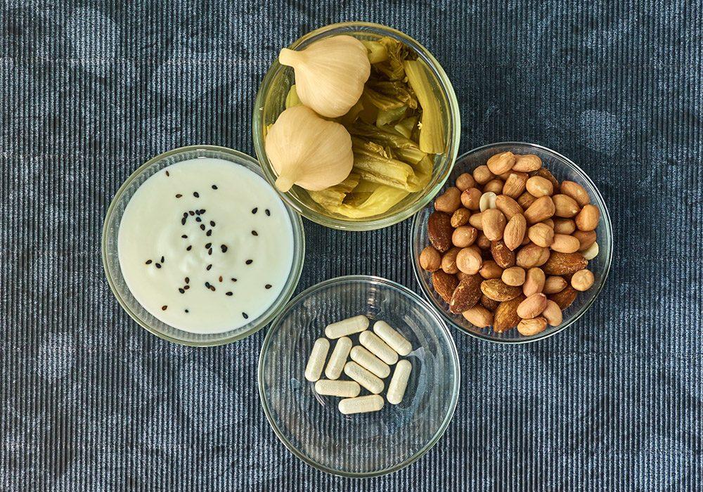 Ces aliments contiennent des probiotiques.