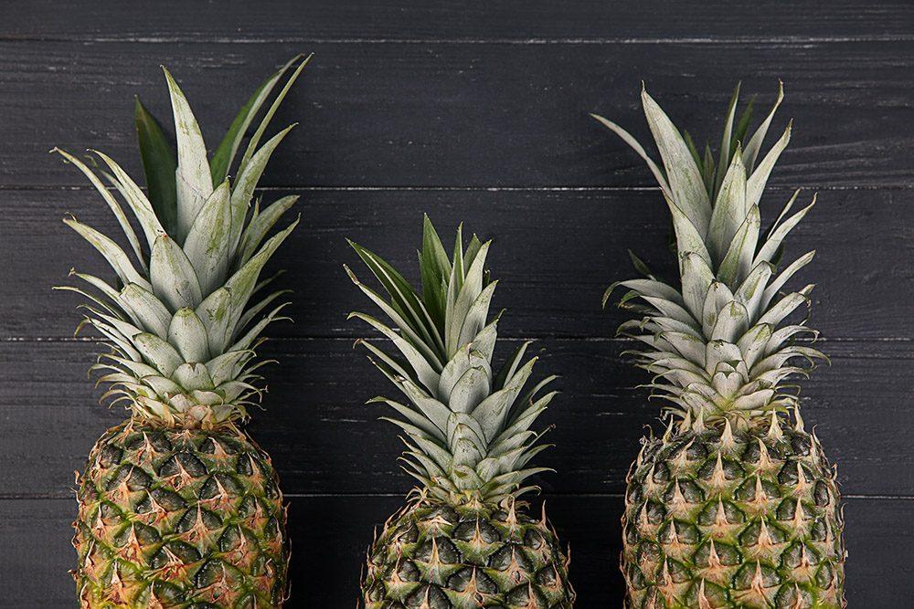 Il n'est pas nécessaire d'acheter des ananas bio.