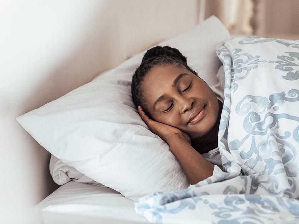Dormez bien, pour ralentir le vieillissement.
