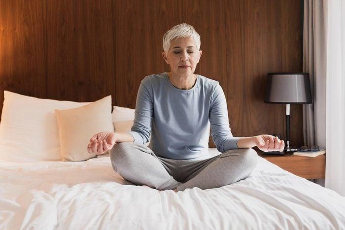 Réduire votre stress pour ralentir le vieillissement.