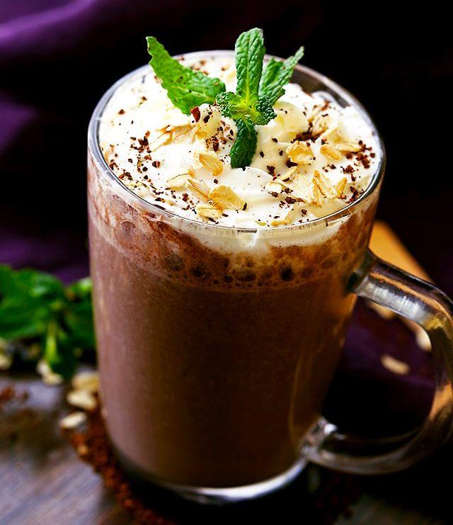 Recettes de café glacé: le smoothie au café.