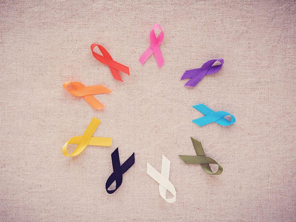 Il existe de nombreux types de cancers