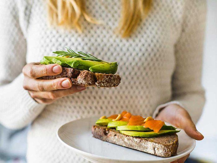 Mangez de bons gras pour vivre jusqu'à 100 ans.