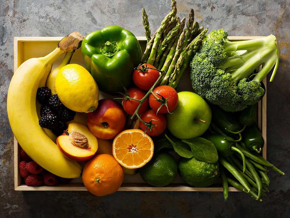 Pour vivre jusqu'à 100 ans : mangez plus de fruits et de légumes.