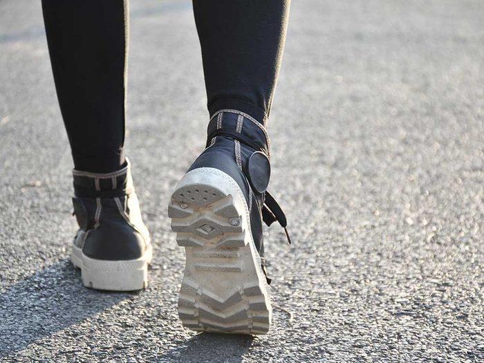 Marchez tous les jours pour vivre jusqu'à 100 ans.