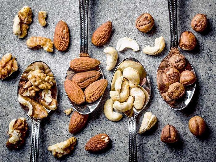 N'hésitez pas à manger des noix pour vivre jusqu'à 100 ans.