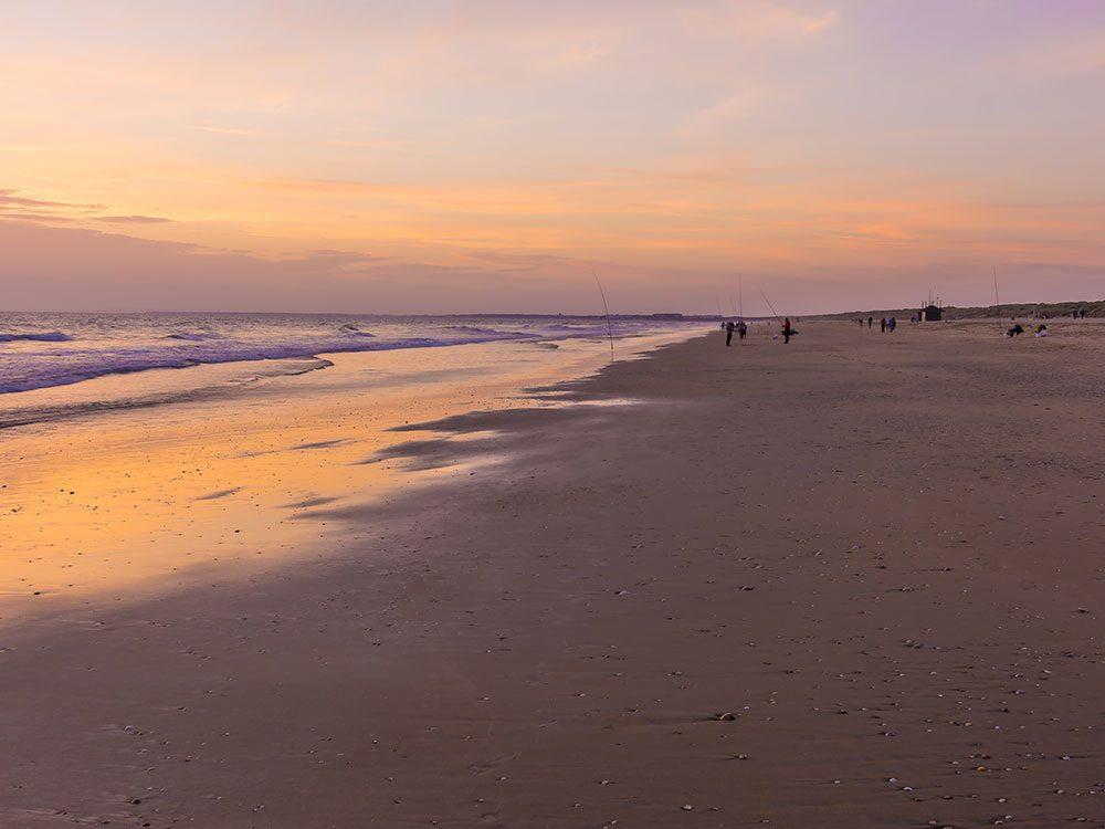 La plage de Punta Umbria en Espagne est une des plus belles plages du monde.