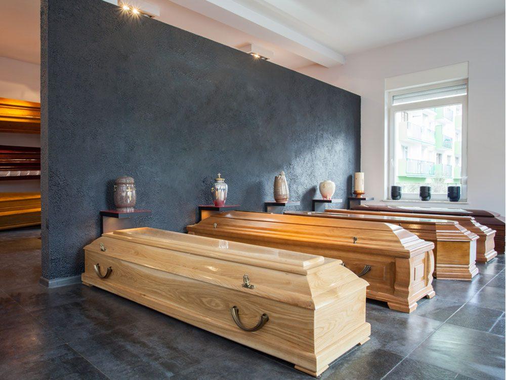 La ville américaine d'Houston, Texas: Musée national de l'histoire funéraire.